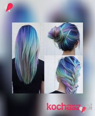 Galaxy hair- na czym polega ten trend?