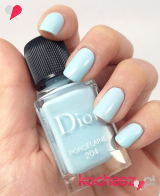 Blue serenity- nowy trend w manicure!